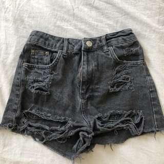 Top shop shorts size 8