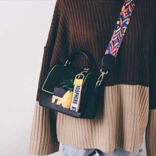 [P.O] Ladies Satchel Sling Bag