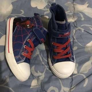 Sepatu anak marvel spiderman