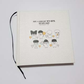 BTS HipHop Monster- 365 Diary (White)