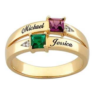 CUSTOMIZED PROMISE RING (BrassGold)