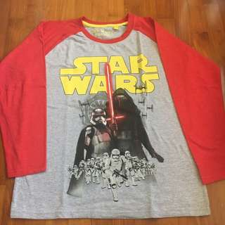 Star Wars Long sleeved t shirt