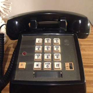Old AT&T Telephone 80's Made in USA (80's US TV series Phone)