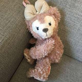 迪士尼明星 Disney ShellieMay 雪莉玫熊熊吊飾包包 Duffy達菲女友