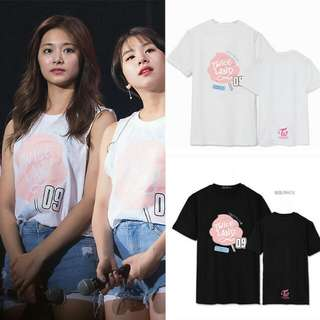 Twice演唱會同款t恤