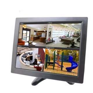 BW 10.1-Inch CCTV TFT LCD Color Monitor with AV, HDMI, BNC, VGA Input (Black) -- 415
