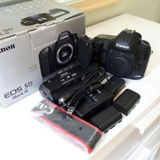 Canon 5d Mkiii +original Battery Grip