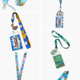 LOOKING FOR ADVENTURE TIME LANYARD