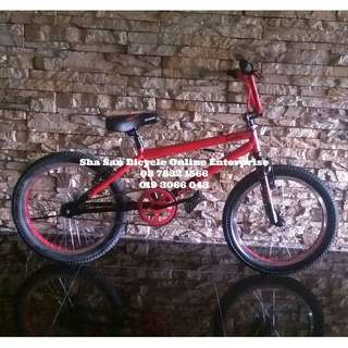 RED BLUE Basikal Bicycle BMX Garion 20' Er Freestyle Tricks - Factory
