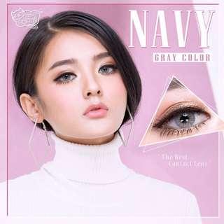 Navy Series Contact Lens - Gray/Brown