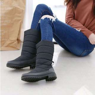 鋪棉高筒靴子
