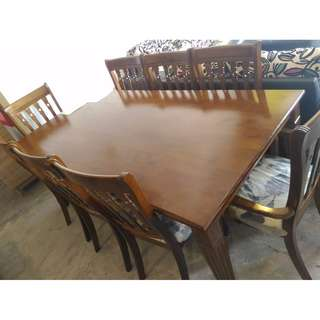LEGEND SOLID WOOD DINING SET