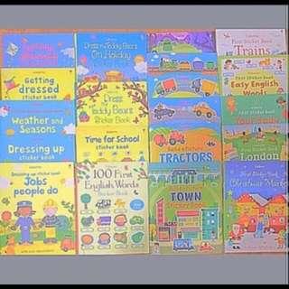 [Brand-new] Usborne/ Ladybird sticker books