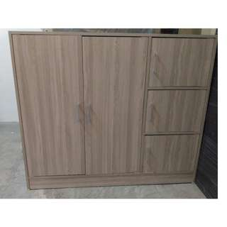 CUPBOARD WITH SIDE COMPARTMENT