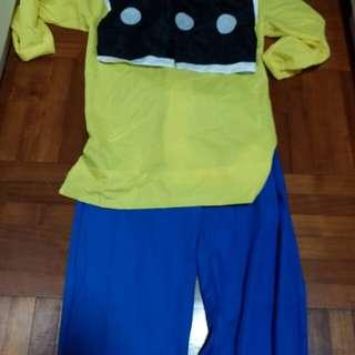 老夫子cosplay打扮套裝