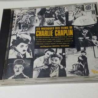 CD: Michel Villard Les Musiques Des Films De Charlie Chaplin
