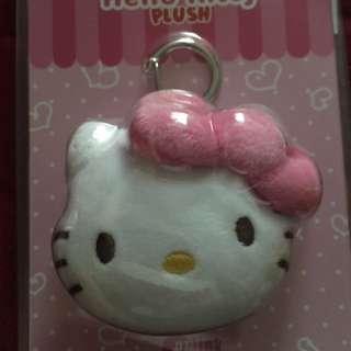 Hello Kitty Plush ez-charm (pink ribbon)