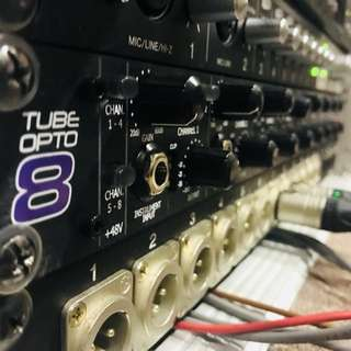 ART TubeOpto 8 CH Tube Preamp ADAT