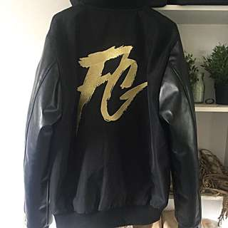 NEW Men's Leather Bomber Jacket