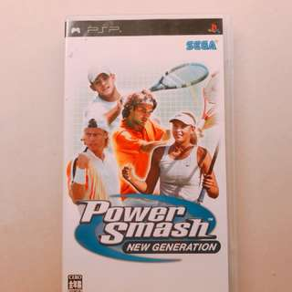 PSP game Power Smash