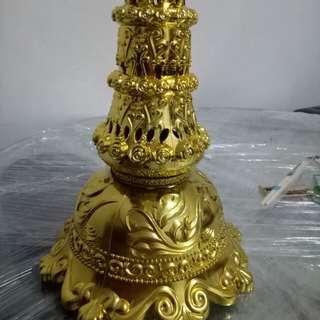 Bunga Pahar Stand (gold)