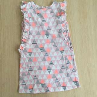 Cotton On Pastel Geometric Mini Dress