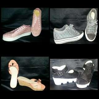Wedges dan sepatu