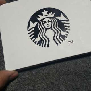 Starbucks limited Edition card.