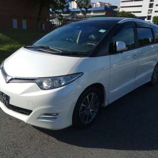 Toyota Estima 8 Seater For CNY Rental!