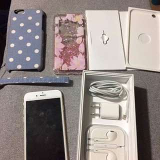 iPhone 6 32gb smartlocked 1 week use nego.