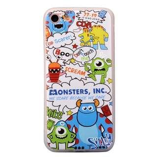 (PO) Disney Monsters Inc Cartoon Soft Shell iPhone Casing
