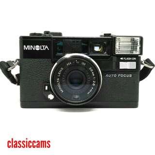 Minolta Hi-matic AF-2 35mm Film Camera