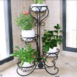 Flower Pot Stand Gardening Plant Rack