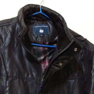 🚚 咖啡黑舖棉飛行夾克