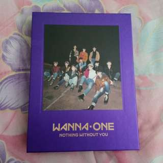 Wanna one nothing without you woojin full set