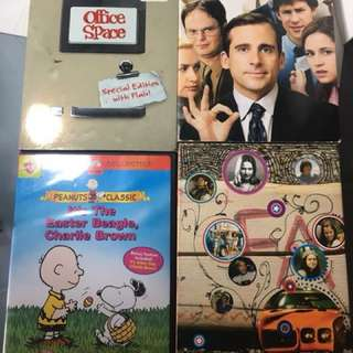Take All 4 DVDs