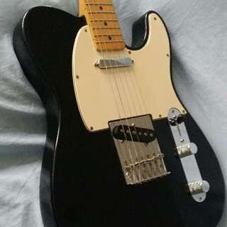 Fender Telecaster Electric Guitar Mexico (EBONY)