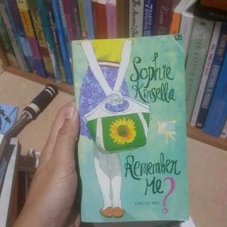 Can you remember me by Sophie Kinsela