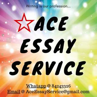 Essay Services 📚