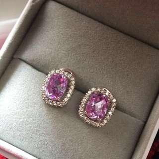 Arte 紫色耳環