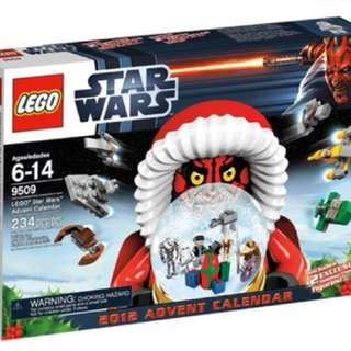 Lego 9509 Advent Calendar 2012