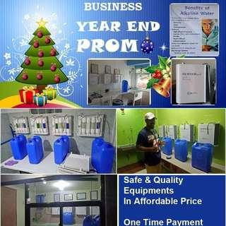 ALKALINE WATER BUSINESS