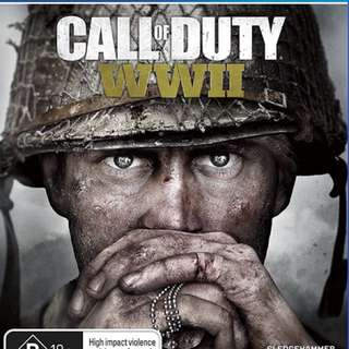 Call of Duty WWII FREE POSTAGE Xbox or PlayStation