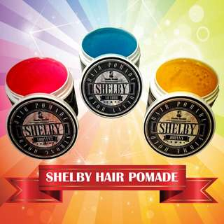 Shelby Hair Pomade