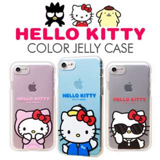 ★Authentic★HELLO KITTY FRIENDS COLOR CLEAR CASE