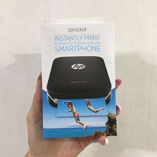 BRAND NEW IN BOX HP Sprocket Instantly Print Smartphone