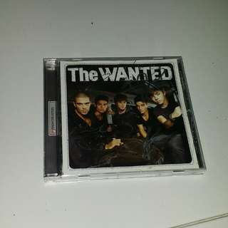 The Wanted CD (with band members' autographs)