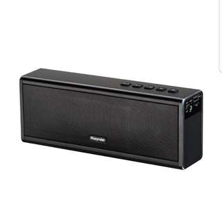 20w booming bass Haynie PN-19 20W Wireless Aluminum-Alloy Bluetooth Speaker With Strong Bass, High Fidelity Sound And Power Bank Function