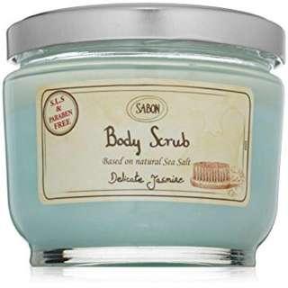 Brand new Sabon body scrub 600g! The best body scrub with essential oil!