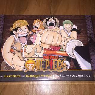 One Piece, East Blue and Baroque Works box set (volumes 1-23)